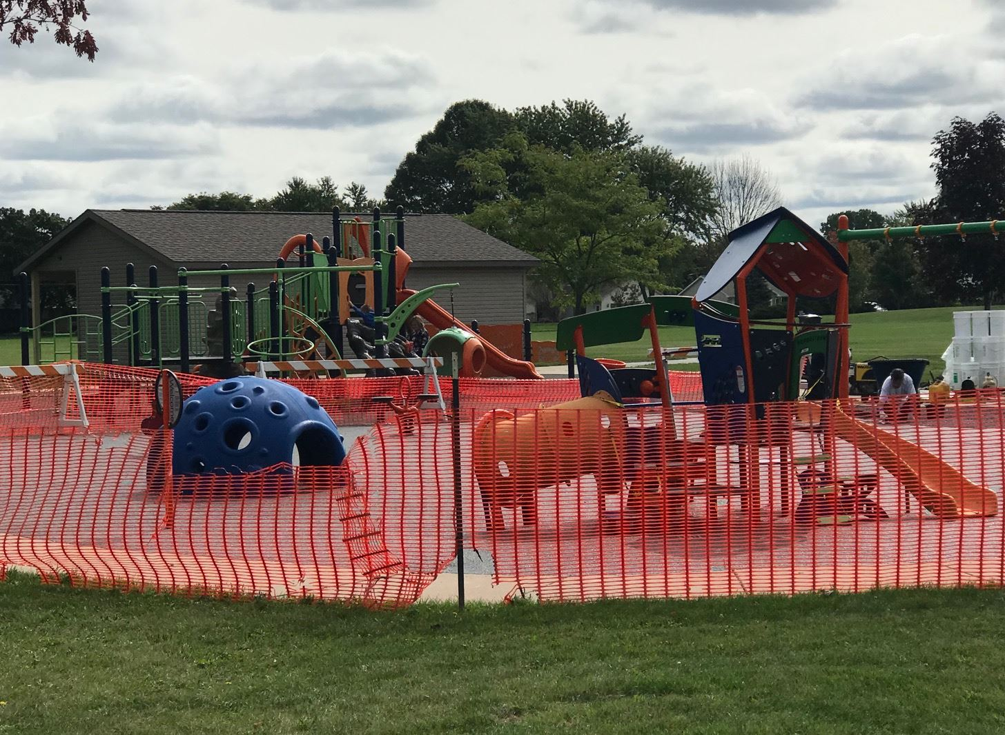 2020 VL Playground Replacement - young kid zone